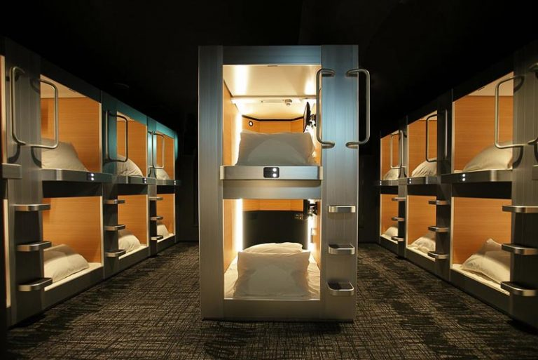 Check Out The Best Capsule Hotels Around The World